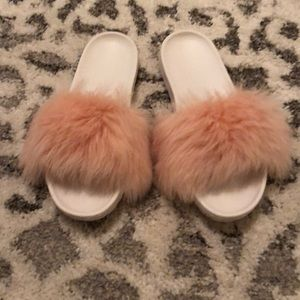 Authentic UGG slides size 8
